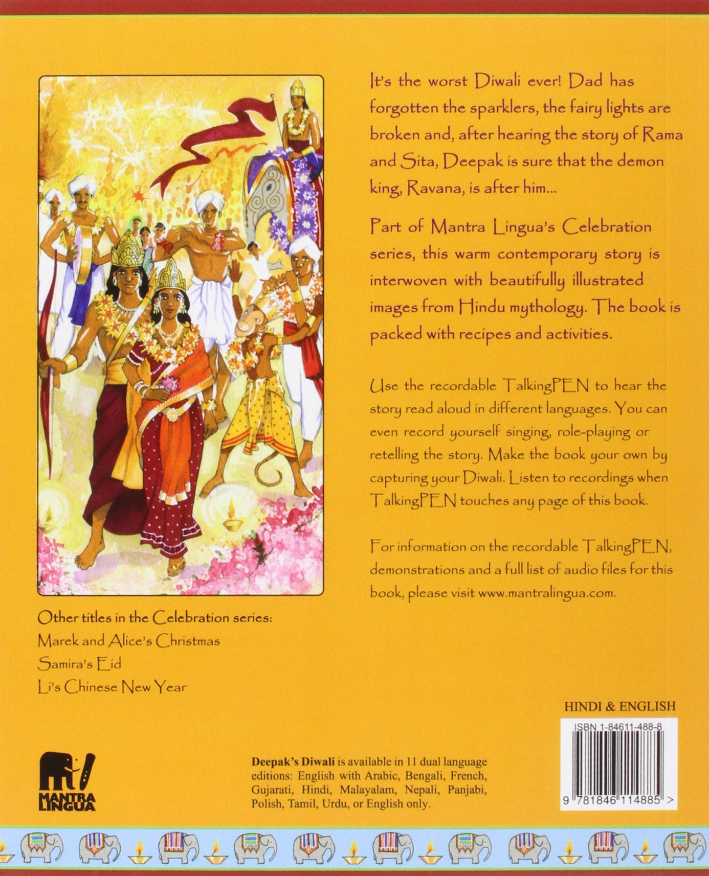 Christmas History In Hindi.Buy Deepak S Diwali In Hindi And English Celebrating