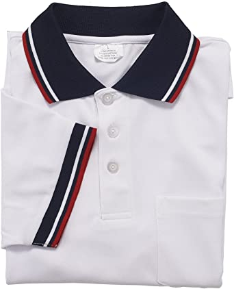 Adams USA Smitty Major League Style Short Sleeve Umpire Shirt with Front Chest Pocket Navy, Large
