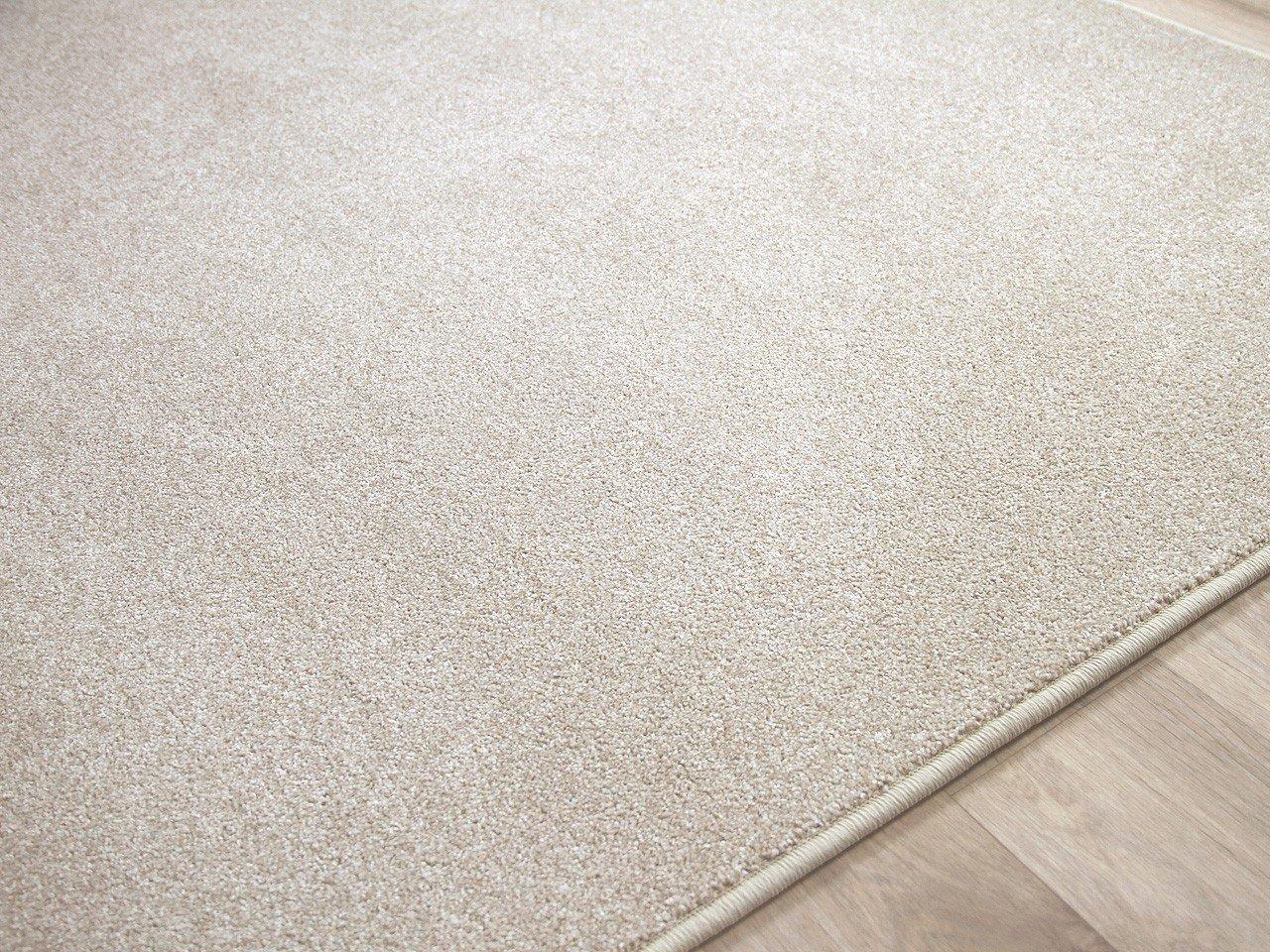 Hochflor Velours Teppich Belini Melange Creme Natur in 24 24 24 Größen B00SUMGD8I Teppiche c1d94d