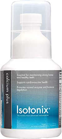 Isotonix Calcium Plus, Supports Skeletal Health, Strong Bones, Healthy Teeth, Supports Cardiovascular Health, Market America (90 Servings)
