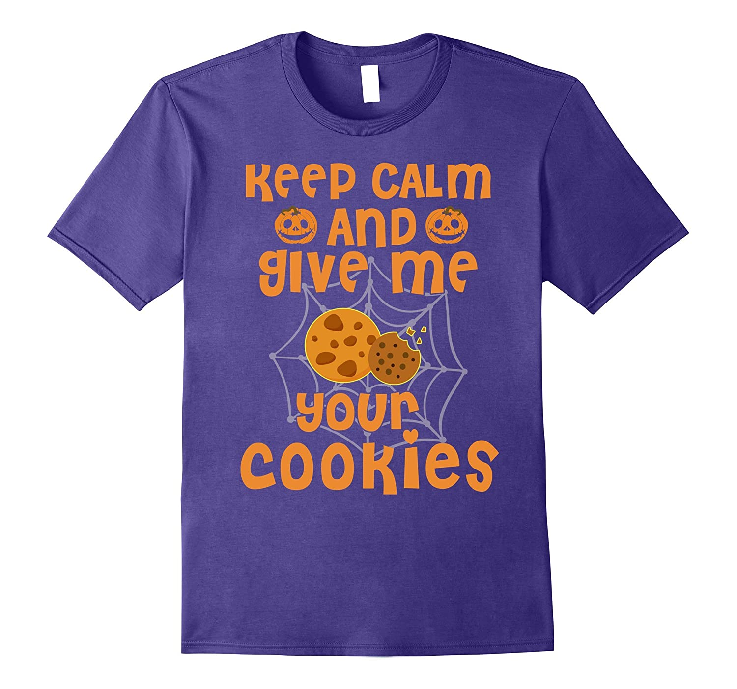 Keep Calm And Give Me All Your Cookies Funny T-Shirts-ANZ