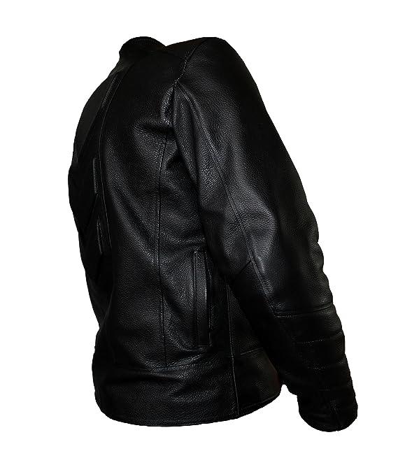 5582628371d Ceceña   Arce Chamarra Especial para Motociclistas DE Piel con Protecciones  CS13  Amazon.com.mx  Ropa