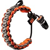 Gerber GE31-001773 Survival Bear Grylls - Pulsera deportiva, color gris y naranja