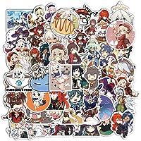 50 Stks Hot Game Genshin Impact Stickers Voor Laptop Telefoon Case Fiets Skateboard Decals Kids Geschenken Sticker