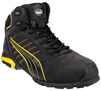 a1c935bd91ad19 Puma Amsterdam Mid Mens Safety Work Boot Blk - 47  Amazon.co.uk ...