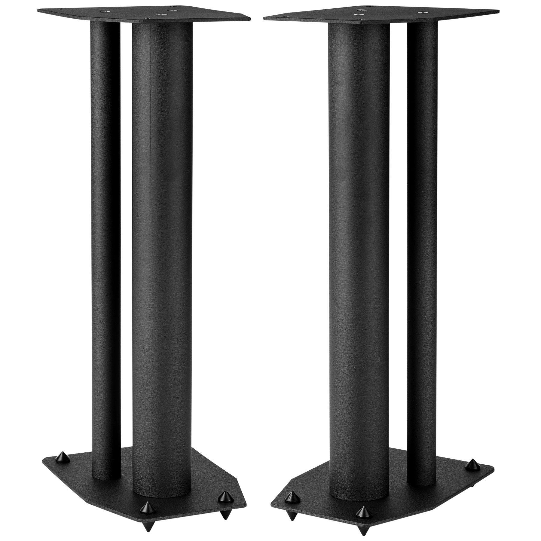 Dayton Audio SSMB24 24'' Speaker Stand Pair Square Steel Base by Dayton Audio