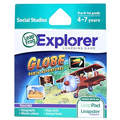LEAPFROG LEAPSTER LEAPPAD EXPLORER LEARNING GAME GLOBE EARTH ADVENTURES ,#G14E6GE4R-GE 4-TEW6W253408: Arts, Crafts & Sewing