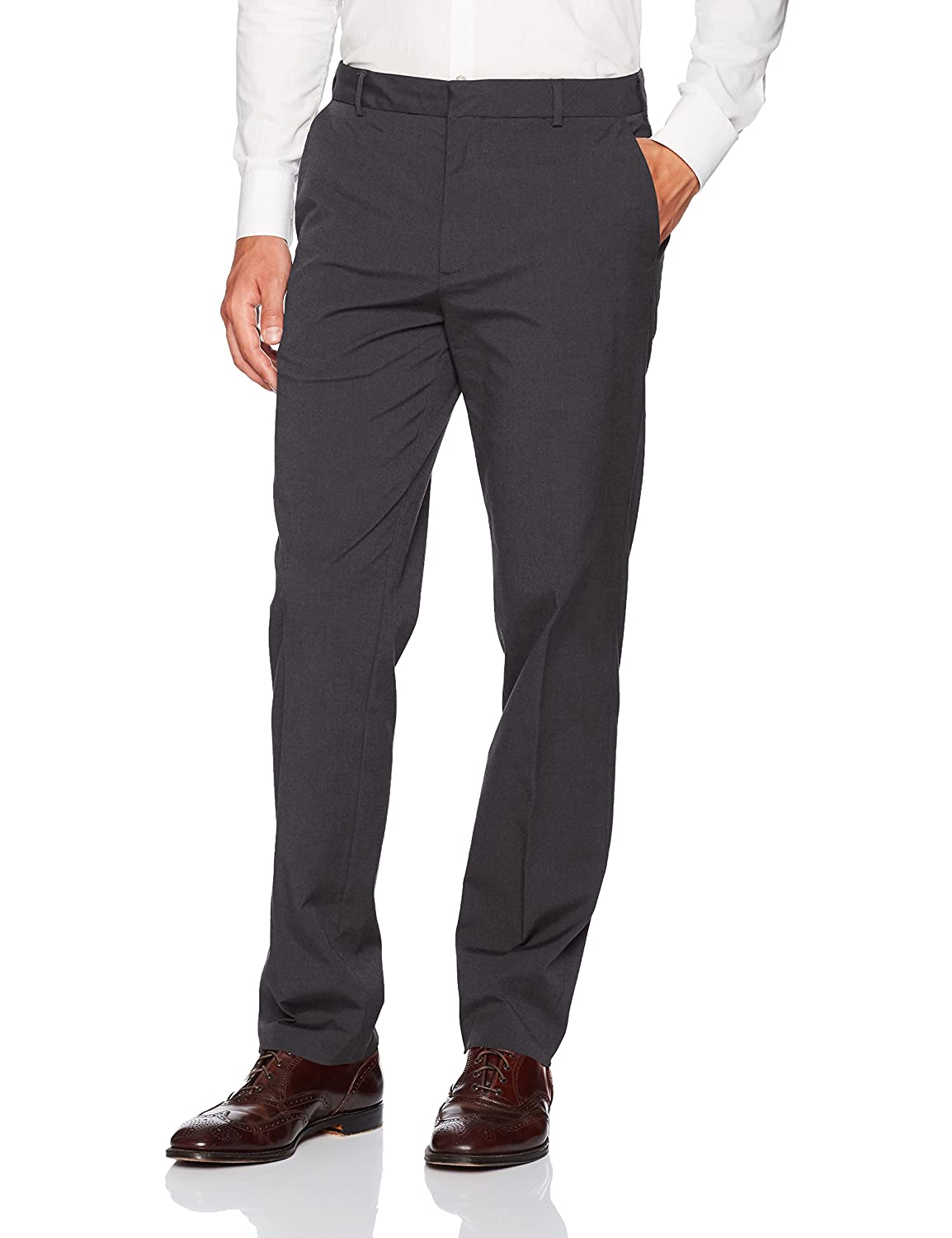 Van Heusen Mens Flex Flat Front Oxford Chino 505M124