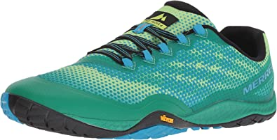 Merrell Trail Glove 4 Shield Trail Running Zapatillas, color Verde, talla 48 EU: Amazon.es: Zapatos y complementos