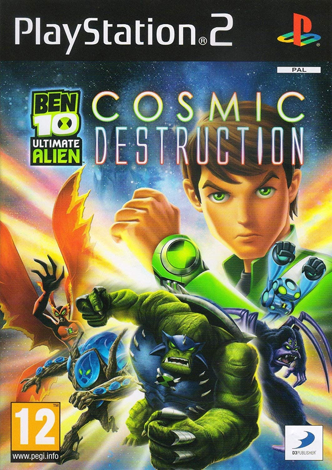Ben 10 Ultimate Alien: Cosmic Destruction (PS2): Amazon.co.uk: PC & Video  Games