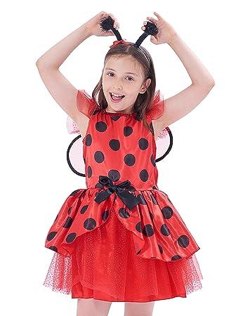 IKALI Ladybird Costume Kids ceef210774f2
