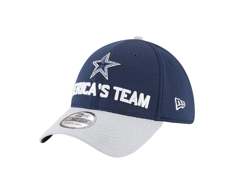 New Era Dallas Cowboys 2018スポットライトNFL Draft 39thirty Flex Hat – Navy / Gray Small/Med  B07CH8HSBQ