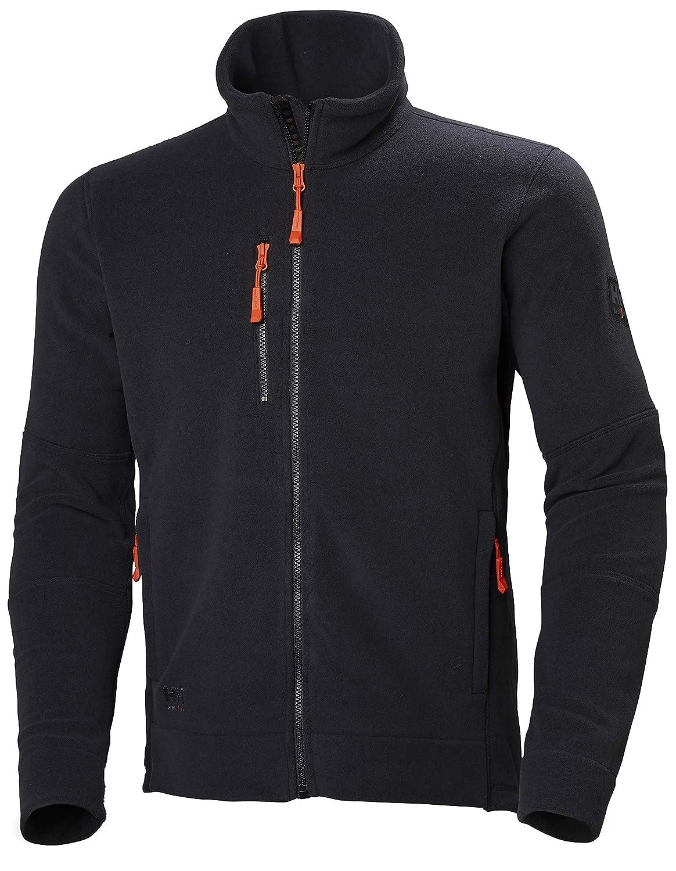 noir S - Chest 36  (92cm) Helly Hansen Pour des hommes Kensington Thermal vêtehommests de travail Fleece veste