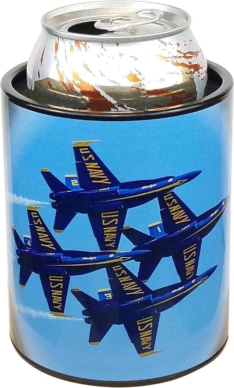 Keepzit Kooler US Navy Blue Angels F18 Can Cooler, 12-16 Oz Cans and Bottles