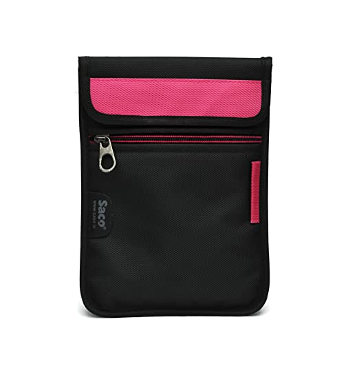 Saco Soft Durable Pouch for Samsung Galaxy Tab 4 T231 White   Pink Bags,Cases   Sleeves