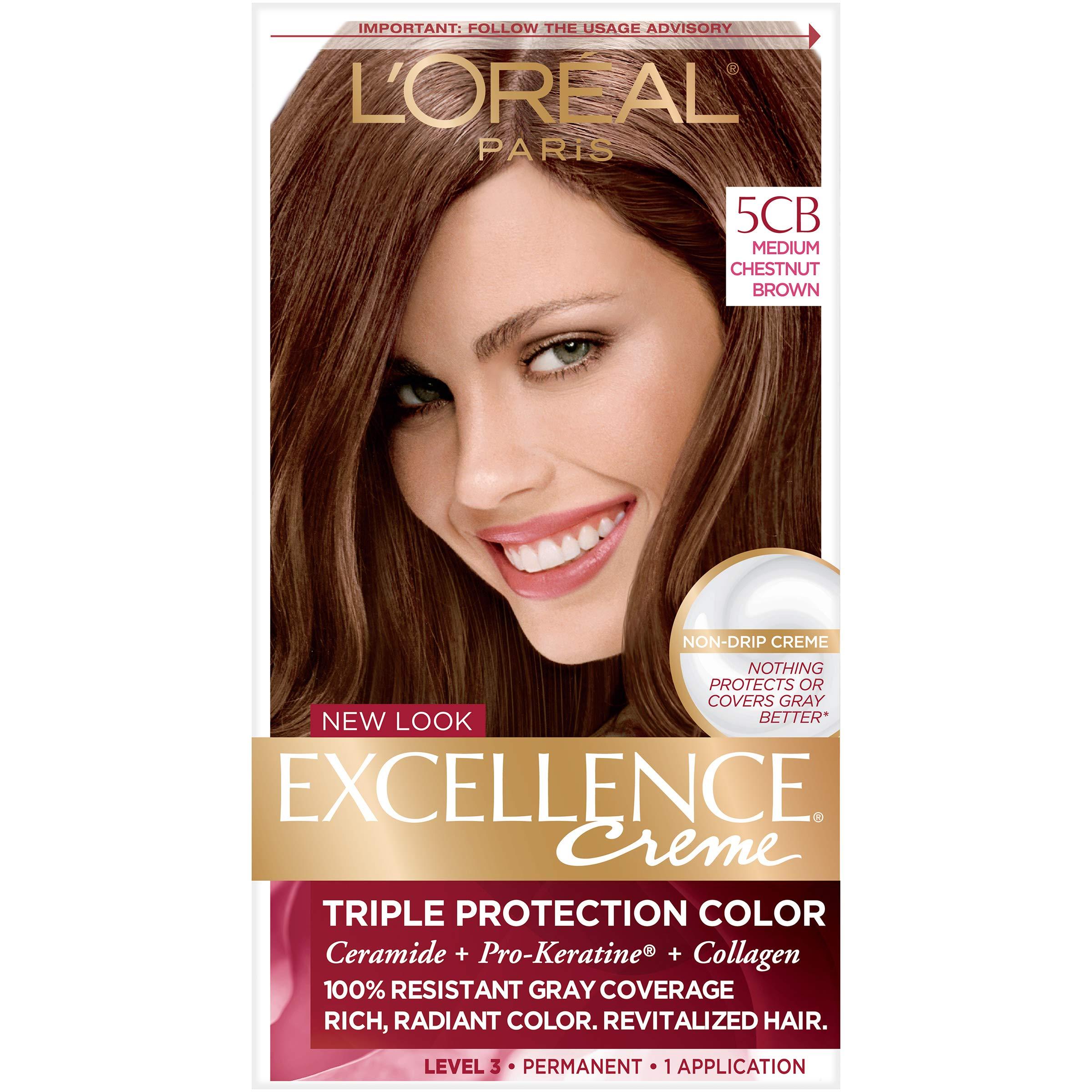 Amazon Loreal Paris Excellence Creme Hair Color 6cb Light