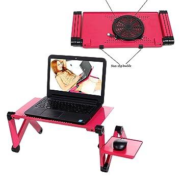 BUSYALL Mesa Soporte Portátil Cama para Ordenador Notebook Laptop Macbook Pro - Plegable Rotación 360 °