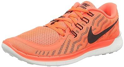 tout neuf bf3ef ac910 Nike Free 5.0, Chaussures de Running homme - Orange (Hyper ...