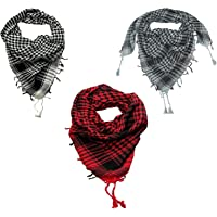 CRAFTSHUB Men's Cotton Arafat (Free Size) - Pack of 3