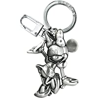 Disney Waving Minnie 2D Pewter Keyring