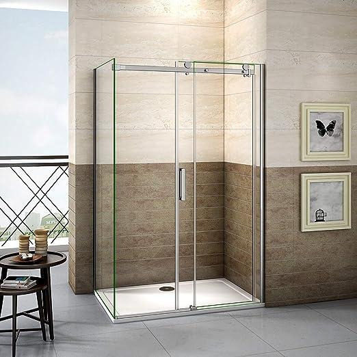 105x70x195cm Mamparas de ducha cabina de ducha 8mm vidrio templado de Aica: Amazon.es: Bricolaje y herramientas