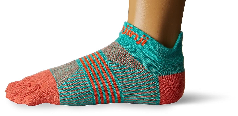 Injinji Women's Run Lightweight No Show Coolmax Xtra Socks 201111BEM/L