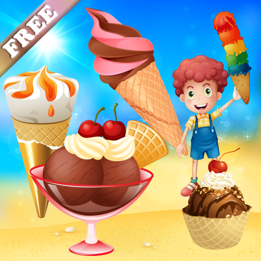 Ice Cream game for Toddlers and Kids : discover the ice creams world ! FREE