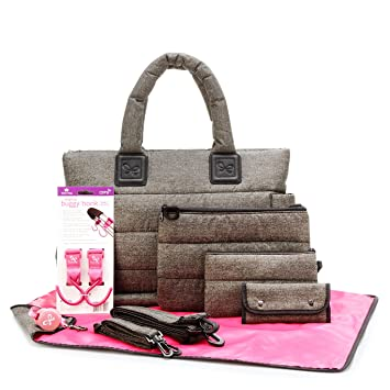 Amazon.com : CiPU Baby Diaper Bag - Designer Diaper Totes - Baby ...