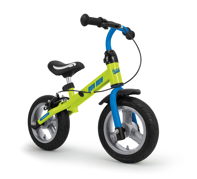 RunRunToys- Bicicleta Runrunbike Unisex para niños a Partir de 2 años con Ruedas antipinchazos y Freno, Color Azul (Herrajes Multimec 5081): Amazon.es: ...