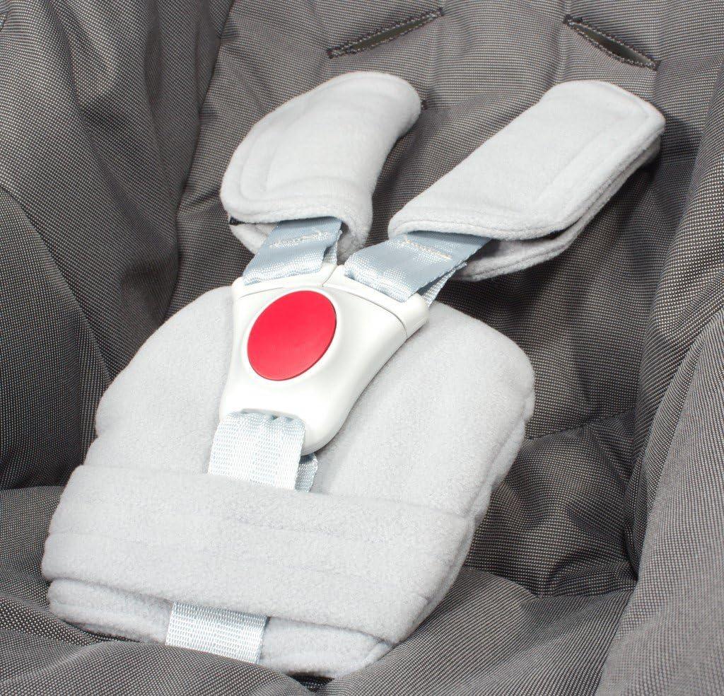 Aptos para portabeb/és ByBUM/® cochecitos Protectores para arn/és o cintur/ón de seguridad sillas de seguridad p. ej. Maxi Cosi City SPS, Cabrio, Cybex Aton, etc.; disponibles en muchos colores; FABRICADOS EN LA UNI/ÓN EUR