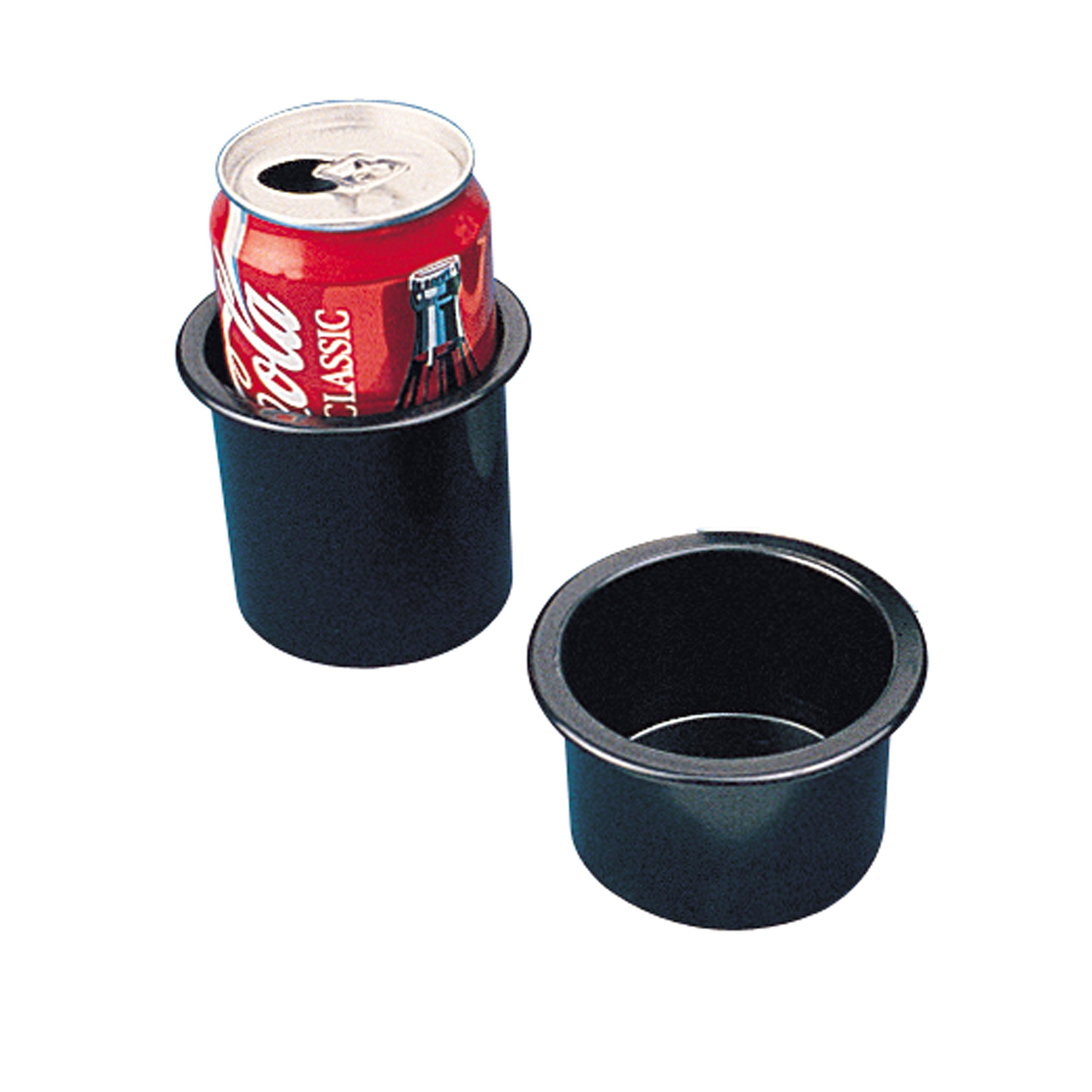 Sea-Dog 588000 Flush Mount Drink Holder, 2'' Deep - Black