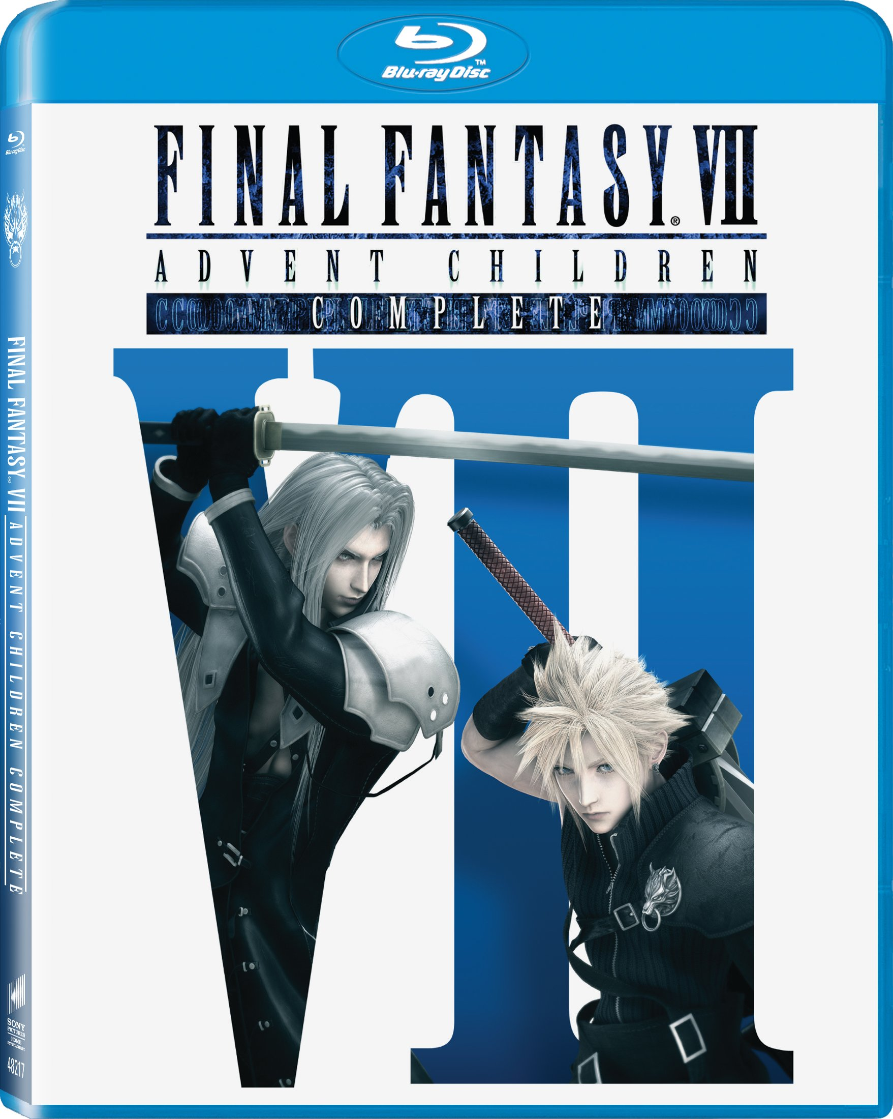 Blu-ray : Final Fantasy VII: Advent Children (Ultraviolet Digital Copy, AC-3, Widescreen, Dubbed, )