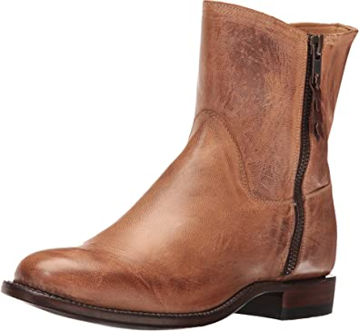 Lucchese Round-Toe Leather Ankle Boots outlet buy outlet 100% guaranteed 0gYs9pM