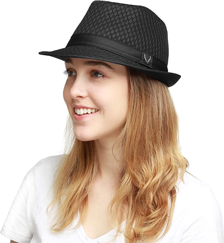 Sakkas Sammy Structured Wool Fedora Hat