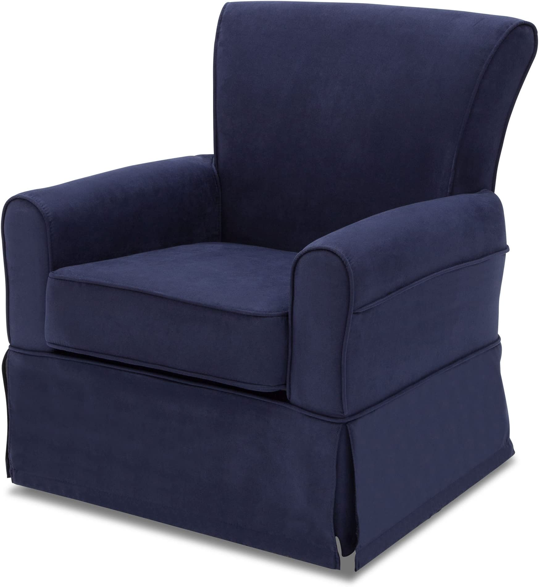 Delta Children Benbridge Glider Swivel Rocker Chair Navy  sc 1 st  Amazon.com & Gliders | Amazon.com
