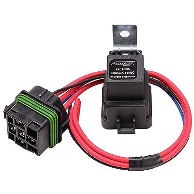 Fastronix 50/30 Amp Weatherproof Automotive Relay and Socket Kit: Automotive