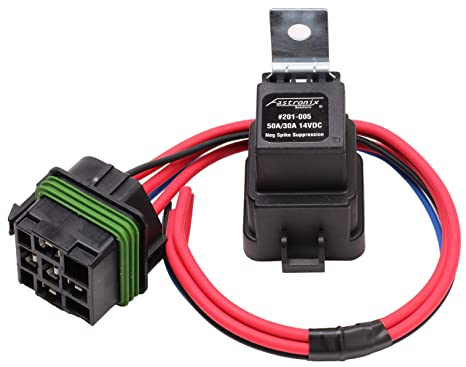 amazon com fastronix 50 30 amp weatherproof automotive relay andimage unavailable image not available for