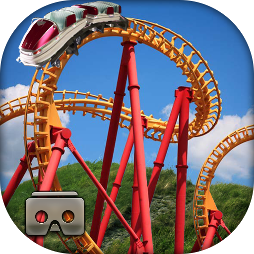Crazy Roller Coaster VR Tour - Virtual App Glasses