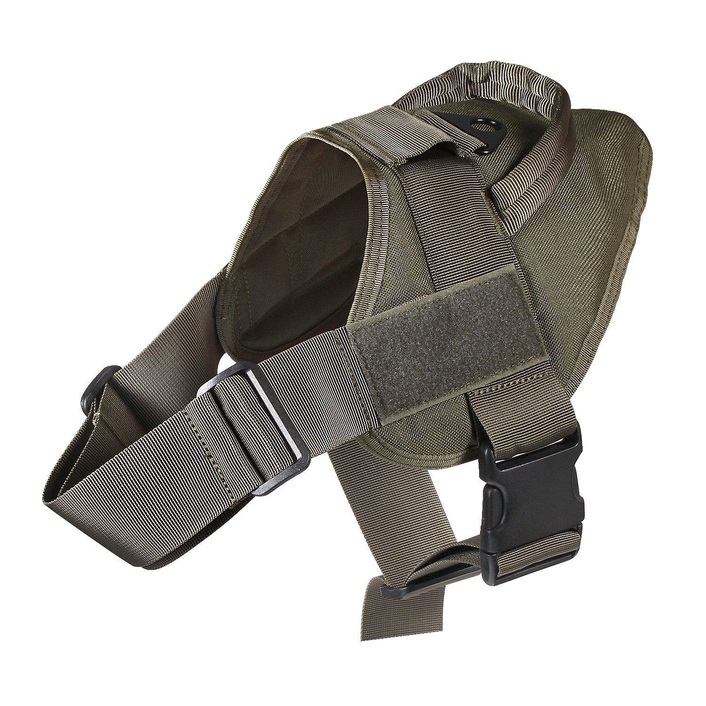 OD Green Large OD Green Large Salt Dog Tactical Service Harness (Large, OD Green)