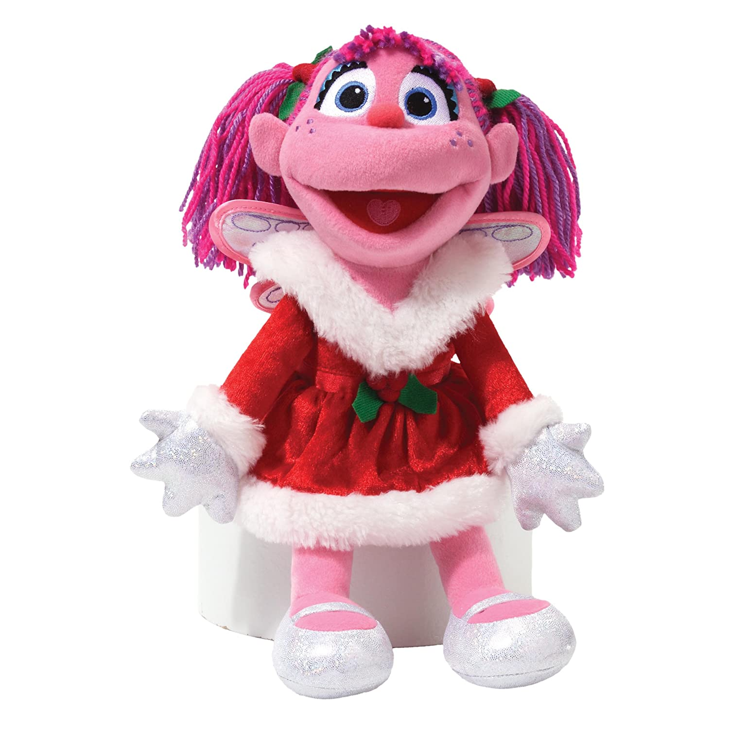 amazon com gund sesame street holiday abby cadabby stuffed animal