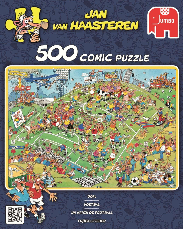Puzzle 500 Teile Spiel Deutsch 2015 Jan van Haasteren Süßigkeitenfabrik