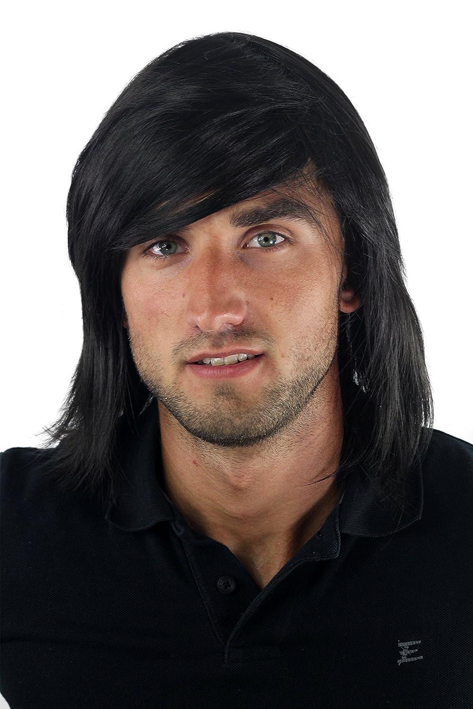 giovane Parrucca da uomo casual GFW892-2 alla moda lunga