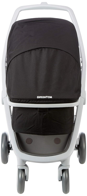 Greentom A+B+C grey-black-V16 Unisex Babytragetasche