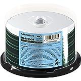 三菱ケミカルメディア 1回記録用 BD-R  DBR25RP50F (片面1層/1-6倍速/50枚)