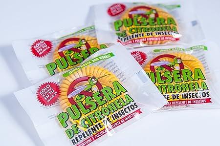 Amazon.com: Pulsera de Citronela: Repelente de insectos (50 unidades): Garden & Outdoor
