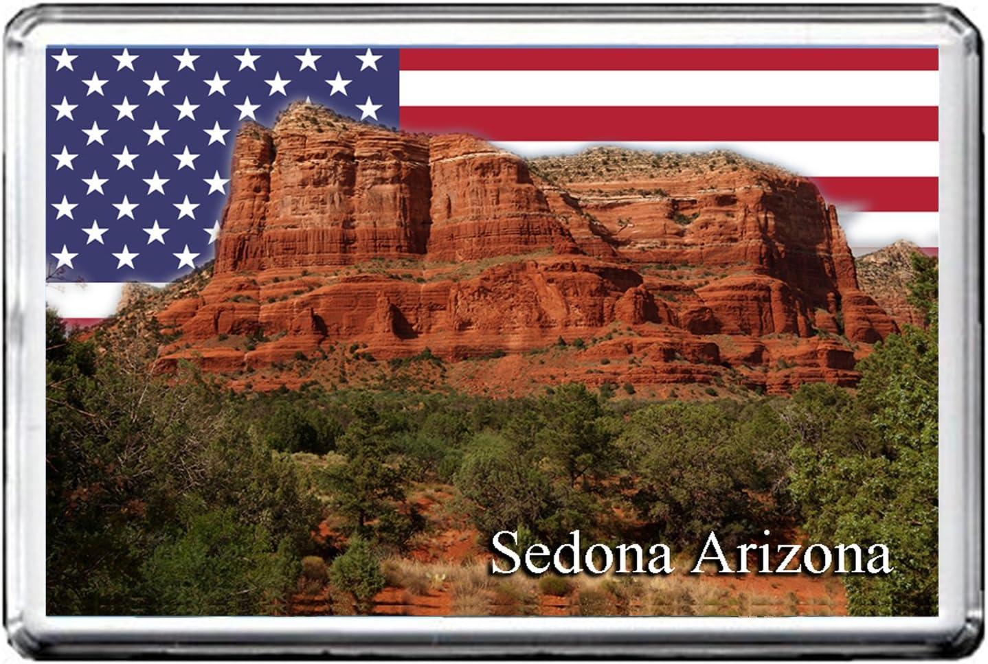 GIFTSCITY SEDONA, ARIZONA FRIDGE MAGNET THE CITY OF UNITED STATES REFRIGERATOR MAGNET