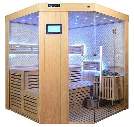 Cabina De Sauna Sauna Completo Saunen Madera Maciza Tradicional