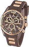 Jacques Lemans Herren-Armbanduhr XL Liverpool Professional Chronograph Quarz Silikon