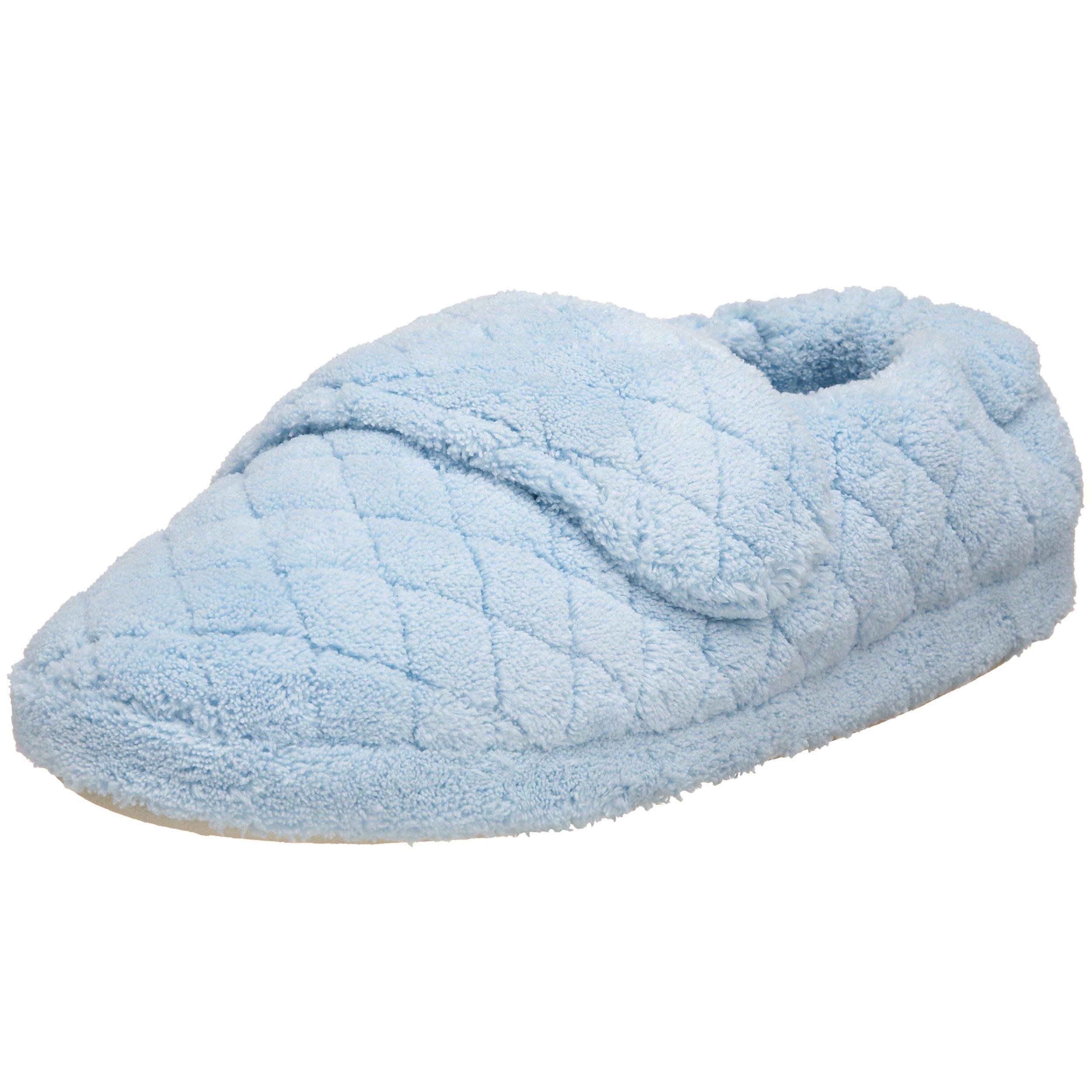 ACORN Women's Spa Wrap Slipper, Powder Blue, 9.5 - 10.5 M US
