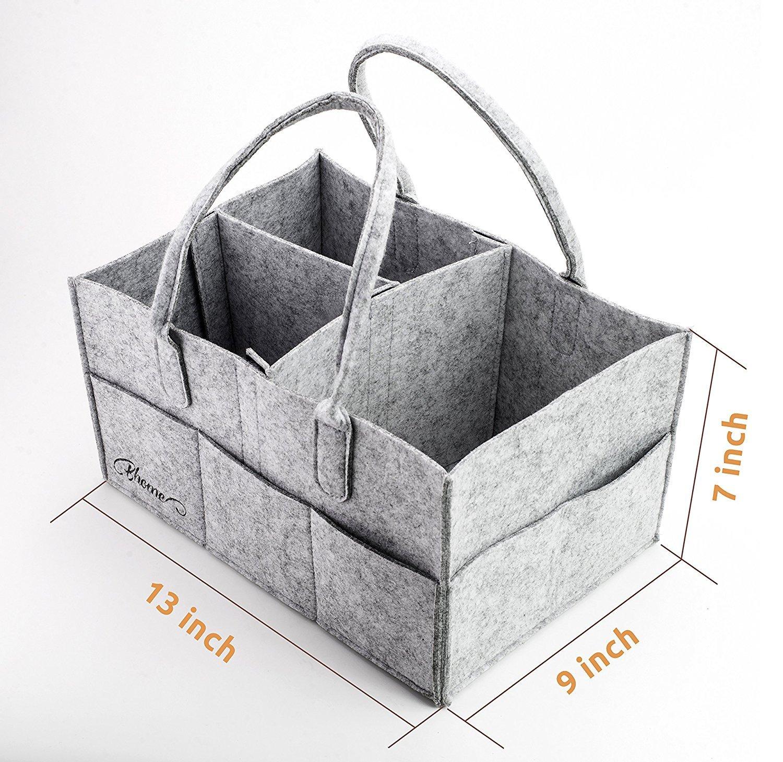 Portable Diaper Storage Caddy Organizer